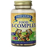 Solaray Food Source B-Complex Capsules, 100 Count