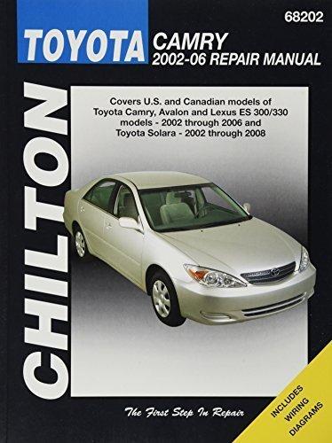 chilton-total-car-care-toyota-camry-avalon-lexus-es-300-330-2002-2006-toyota-solara-2002-2008-repair