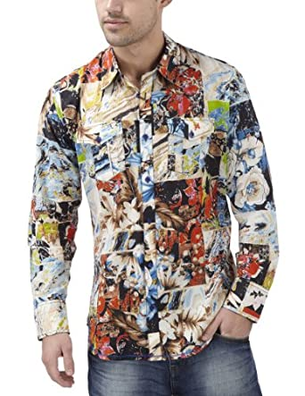 Joe Browns Men's One Off Shirt Multi Print XX-Large