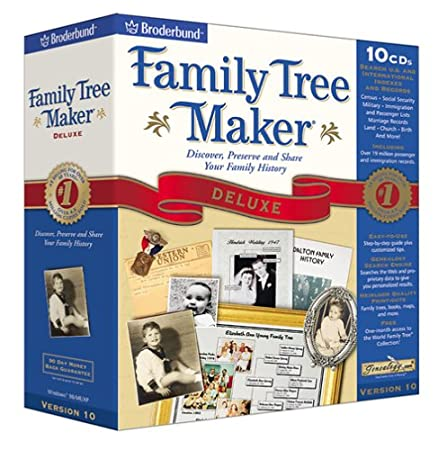Family Tree Maker Deluxe 10