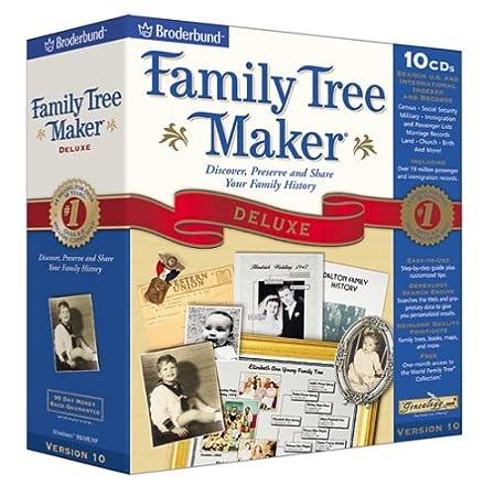 Family Tree Maker Deluxe 10