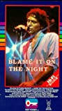 Blame It On The Night VHS Tape
