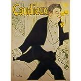 Caudieux, poster by Henri de Toulouse-Lautrec (V&A Custom Print)