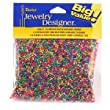 Seed Beads, Mettalic Multi, 11/0, 100 Gram Pkg.