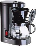 Kalita コーヒーメーカー ブラック CM-102