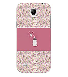 PrintDhaba Funny Image D-4156 Back Case Cover for SAMSUNG GALAXY S4 MINI (Multi-Coloured)