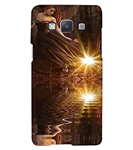 ColourCraft Angel Design Back Case Cover for SAMSUNG GALAXY A7