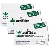 300 actiTube Aktivkohlerfilter (3x100). Mehr Rauchgenuss durch Aktivkohle