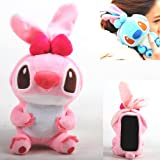 Authentic iPlush Plush Toy Cell Phone Case for Apple iTouch 3 iTouch 4 (Pink Stitch)