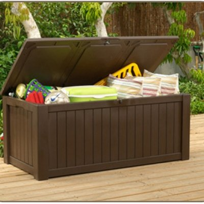 150 Gallon Deck Box For Storage And Sitting