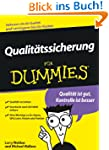 Qualit�tssicherung f�r Dummies: Quali...