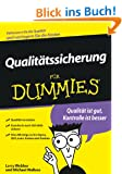 Qualit�tssicherung f�r Dummies (Fur Dummies)