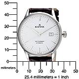 Edox Men's  80081 3 AIN Automatic Date Les Vauberts Watch