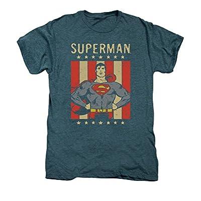 DC Superman Retro Liberty Premium T-Shirt