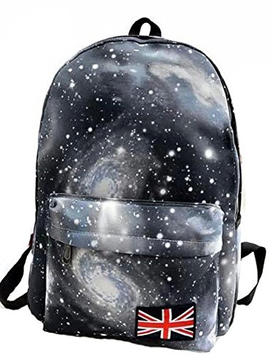 MiCoolker Star Galaxy Vintage Unisex Oxford Backpack