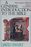 img - for General Introduction to the Bible, A book / textbook / text book
