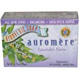 Auromere Bar Soap, Ayurvedic Lavender Neem, 2.75 Ounce