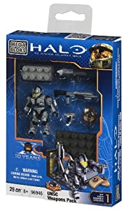 Mega Bloks Halo UNSC Silver CQB