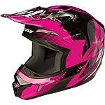 Fly Racing Kinetic Inversion Adult Motocross/Off-Road/Dirt Bike Motorcycle Helmet - Pink/Black / Medium