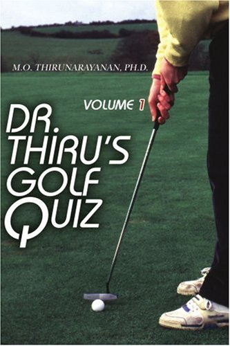 Dr. Thiru's Golf Quiz