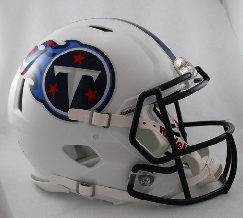 Tennessee Titans Riddell Speed Revolution Full Size Authentic Proline Football Helmet (Proline Titan compare prices)