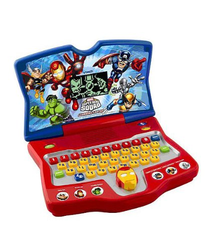 VTech - Super Hero Squad - Learning Laptop - 1