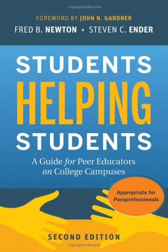 Students Helping Students: A Guide for Peer Educators on...