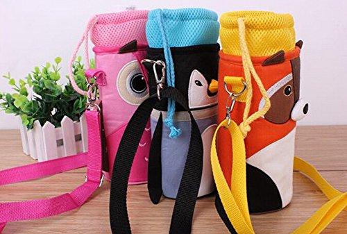 Isolé bébé / enfants Bouteille Tote Bag Portable Fashion Biberon Sac Owl