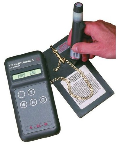 Silver Tester Electronic : Tri electronics gxl professional electronic gold tester