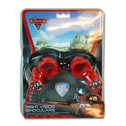 Disney Cars 2 Night Vision Binoculars Goggles Spy Gear