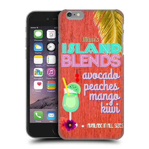 Head Case Designs Island Blends Beach Signs Protective Snap-on Hard Back Case Cover for Apple iPhone 6 Plus 5.5