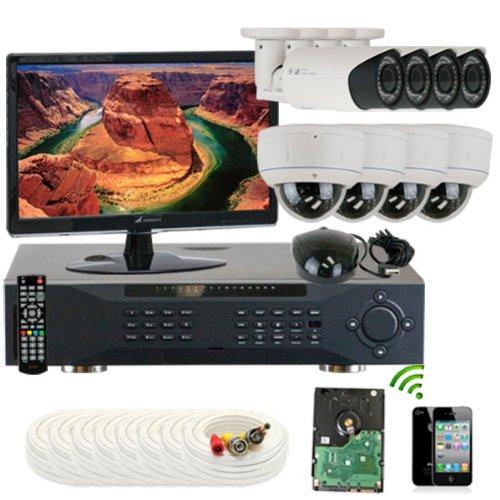 Gw Security Inc. 8Che7 1000Tvl 8-Channel H.264 960H/Fd1 Dvr (White/Black)