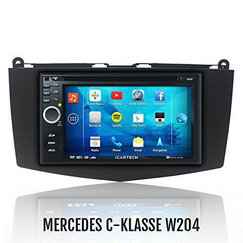 ?Alpha S700 für MERCEDES C-KLASSE W204? Das bärenstarke Android Radio mit GPS?Bluetooth?WiFi?Multi-Touch Display?3G?Navigation? Vorbereitung für: TV (DVB-T) & Digitales Radio (DAB+), Dash-Cam (DVR), - Apps-Erweiterung wie z.B. Radar-Warner, Billiger tanken, Spotify u.v.m, inklusive Wifi Mirroring: iPhone 4,5,5 c s Display Spiegelung, Navigationssystem, Autoradio