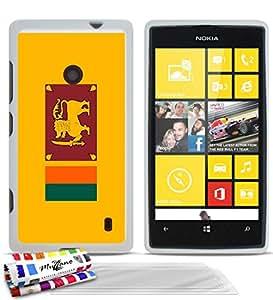 Amazon.com: GENUINE Extra-Slim flexible White Case Flag Sri Lanka By