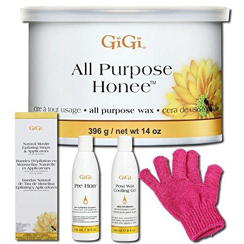 gigi all purpose honee wax how to use