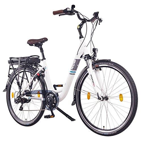 NCM-Munich-201628-Zoll-Elektrofahrrad-HerrenDamen-Unisex-PedelecE-BikeTrekking-Rad-36V-250W-14Ah-Lithium-Ionen-Akku-mit-PANASONIC-Zellen-wei