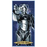 Zap Dr Who Cyberman Printed Towelby Zap