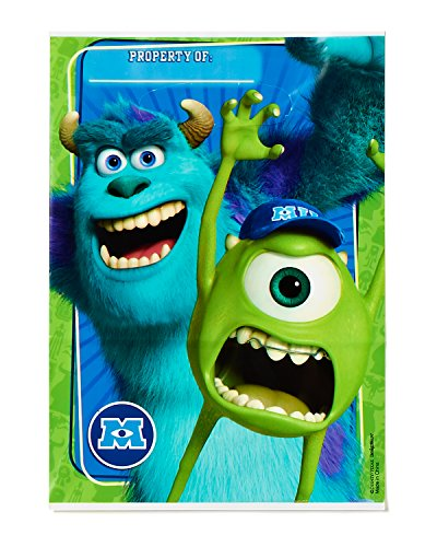 American Greetings Monsters University Treat Bags (8-Pack), Party Supplies