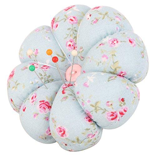 neoviva-fabric-coated-pumpkin-shaped-wrist-wearable-pin-cushion-for-needlework-floral-blue-ocean