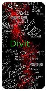 Divit (Immortal) Name & Sign Printed All over customize & Personalized!! Protective back cover for your Smart Phone : Samsung Galaxy Note-3