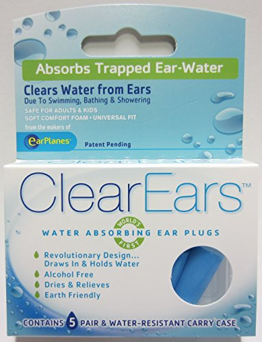 how to clear water from ears after swimming