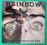 RAINBOW Straight Between The Eyes LP Vinyl & Cover VG+ 1982 Lyrics SRM 1 4041
