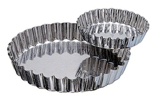 Genois pain de Gènes fer blanc diamètre 20 cm hauteur 3 cm