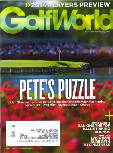 GolfWorld Golf World Magazine May 5 2014 Pete's Puzzle - 1