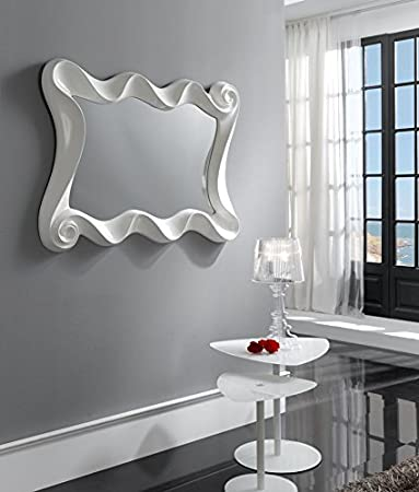 Original mirrors: CURVES Model white colour