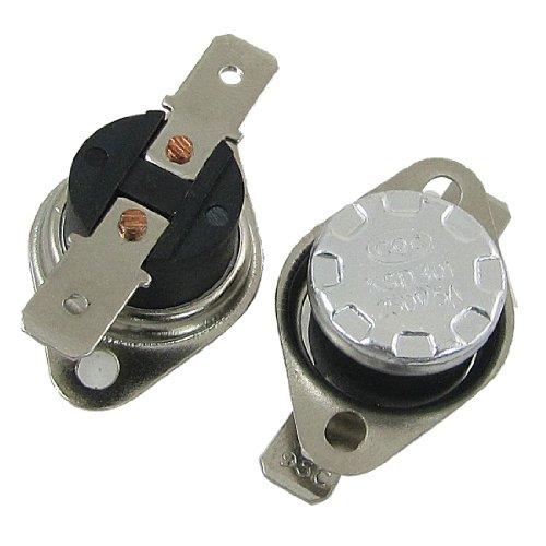 2 Pcs 95 Celsius NC Thermostat Temperature Controoled Switch 250V 5A KSD301
