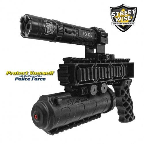 Streetwise Police Force Triple Defender Stun Gun & Pepper Spray System