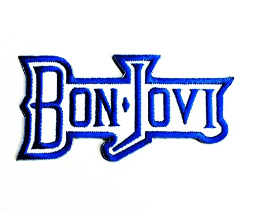 Bon Jovi Patches Iron on Patch / Embroidered