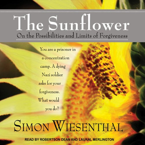 essay on the sunflower by simon wiesenthal Introduction a profoundly poignant account portraying the internal conflict simon wiesenthal experiences when a dying nazi soldier earnestly seeks his forgiveness, the sunflower provokes introspective discussion about forgiveness, justice, mercy, and human responsibility.