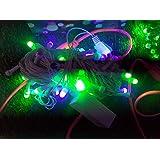Unitech 8 Meter Multicolor LED 8mm Bulb Diwali Light With Remote